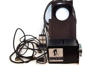 Vintage Photography Image D-Ziner spot projection system Gel Changer with Gel Slides Photographer Flash Gels Projection Equipment
