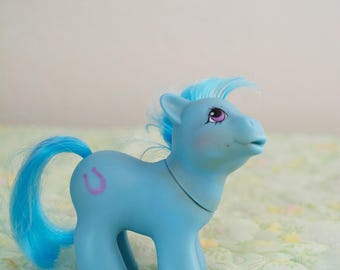 Vintage My Little Pony Baby Lucky G1