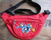 Vintage Disney Fanny Pack / Mickey Mouse Fanny Pack / Souvenir Florida Fanny Pack / Travel Pack / Kids, Unisex Adult