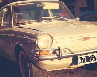 SALE Car wall art, vintage car art, vintage car print, canvas art, canvas wall art, large art, large wall art, car print, classic car art