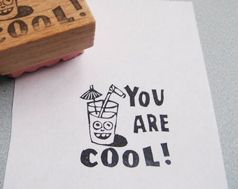 """Stempel """"you are cool"""" Lehrer englisch"""
