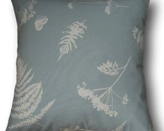 Handmade Cushion Cover Moorland Duck Egg Blue - Home - New Home Decor - Gift - Throw Pillow - Soft Furnishings - Made in England