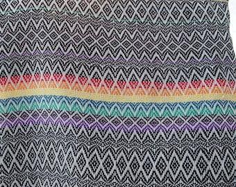 "Hand woven ""Little Rainbow""- Baby Wrap, 3,7 m."