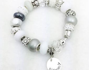 Mommy charm bracelet