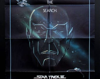 STAR TREK III The Search For Spock original 1984 movie poster