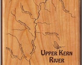 Upper Kern River Map Fly ...