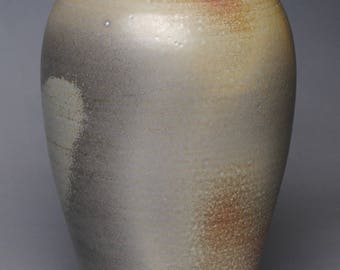 Vase Wood Fired Pottery G96