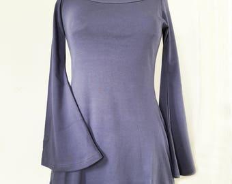 Purple cornflower Fairy tunic