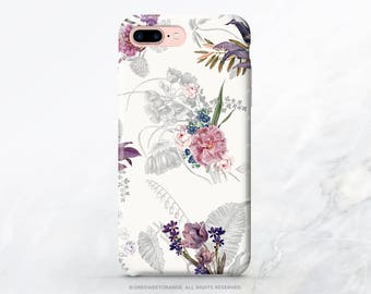 iPhone 7 Case Vintage Floral iPhone 7 Plus Case iPhone 6s Case iPhone SE Case iPhone 6 Case iPhone 5S Case Galaxy S7 Case Galaxy S8 Case T50