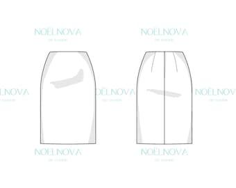 Skirt Block PDF Sewing Pattern