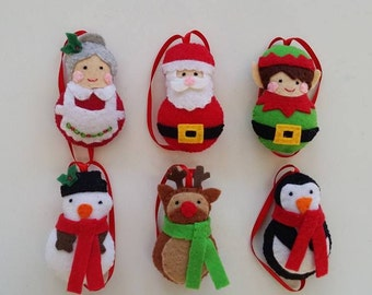 North Pole Christmas tree decorations