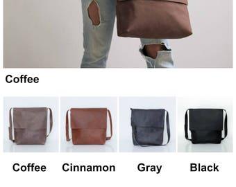 Leather Satchel, Cross Body Bag, Leather Messenger Bag, Womens Leather Satchel Bag, Laptop Bag, Large Leather Bag, Handmade Leather Bag