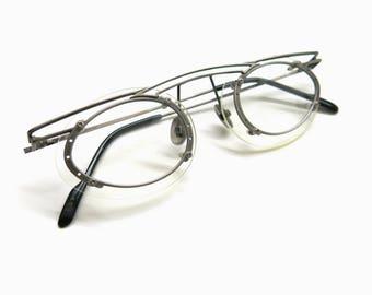 Rare KOURE eyeglass frame | 90s extravagant Steampunk Fashion