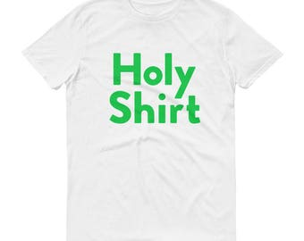 "The Good Place ""Holy Shirt"" Kristen Bell TV Show Funny Short-Sleeve T-Shirt"