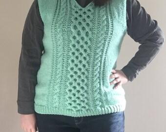 Mint Melon Sweater Vest