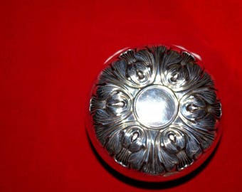 Antique STERLING SILVER YOYO by Gorham - Acanthus Leaf Design