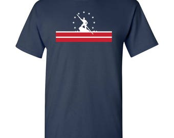 Richmond City Flag T Shirt - Navy