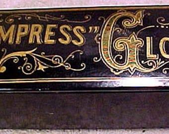 Empress Gloss Papier Mache Advertising Box 1890-1900