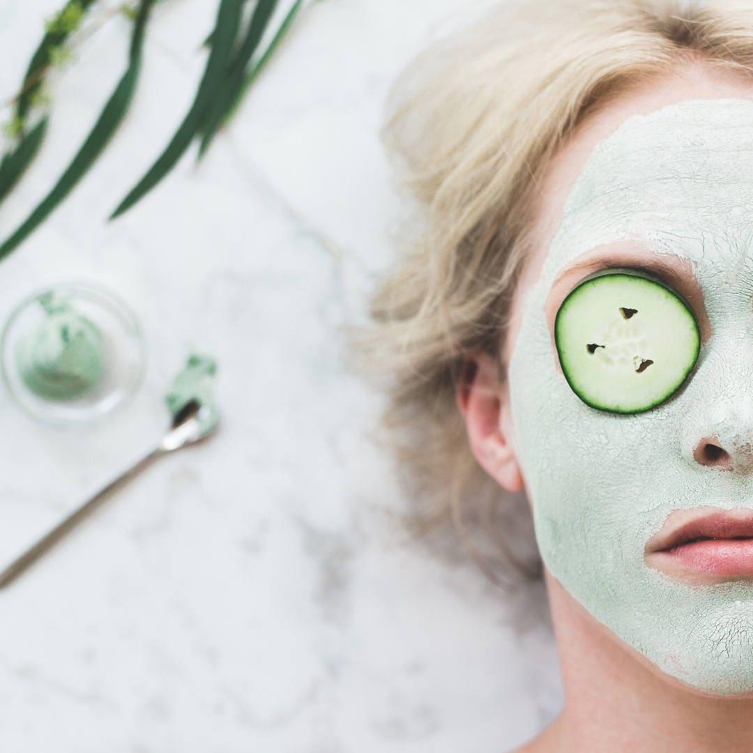 facial mask refresh anti aging green tea