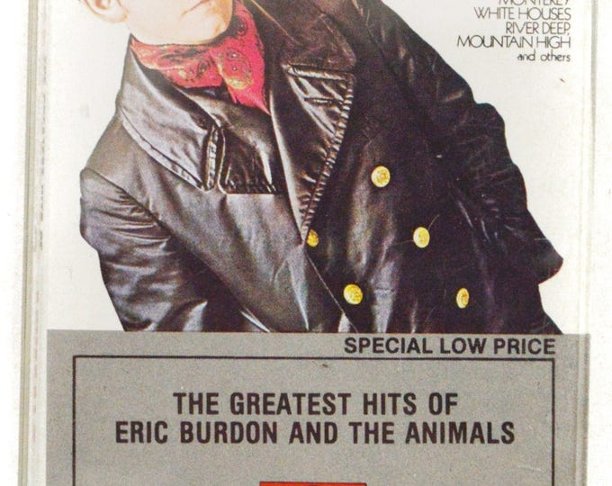 Vintage 80s The Greatest Hits of Eric Burton and the Animals Album Cassette Tape