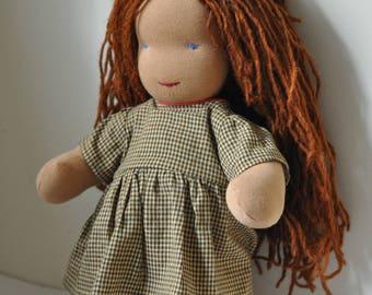 Waldorf Doll with auburn hair