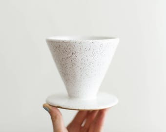 Wake Pour Over - Ships in 2-4 Weeks - Handmade pour over top for brewing coffee