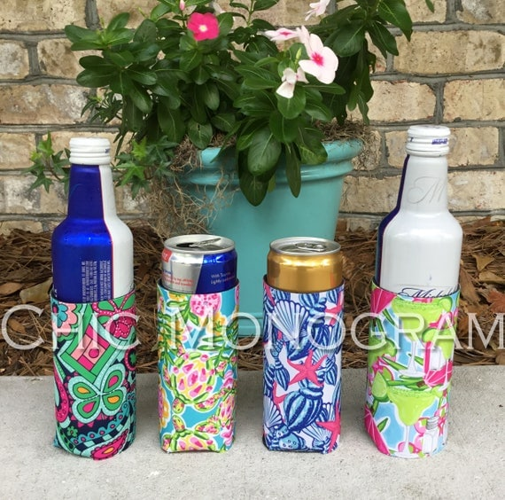 Fun Valentine's Day Gifts for Friends Michelob Ultra Red Bull White Claw Thin Can Sleeve Personalized Beverage Insulators for Thin Cans Wrap