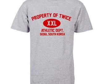 Property of TWICE XXL Gym K-pop T-Shirt