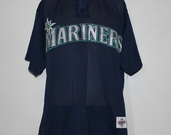 Vintage Seattle Mariners Majestic MLB Jersey XL