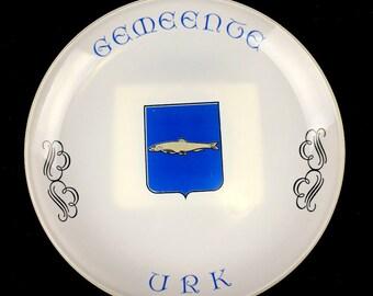 Urk, Netherlands Bicentennial Commemorative Plate