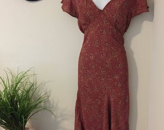 90s Vintage Indie Bohemian Sundress: Size small, medium, large