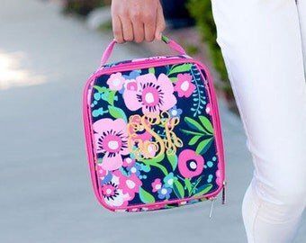 Personalized Posie Lunch Box