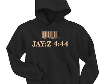 Jay-Z 4:44 444 sweatshirt pullover hoodie concert 2017 album rap hip hop clothing show new album samsung tour