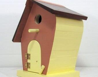 Leaner Birdhouse #620