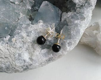 Earrings l Onyx