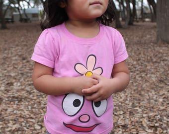 Yo Gabba Gabba Foofa toddler tees- 2 Styles available LAST PRINTS 4T
