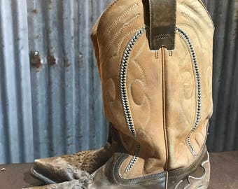 Amazing Vintage Western Cowboy Cowgirl Boots