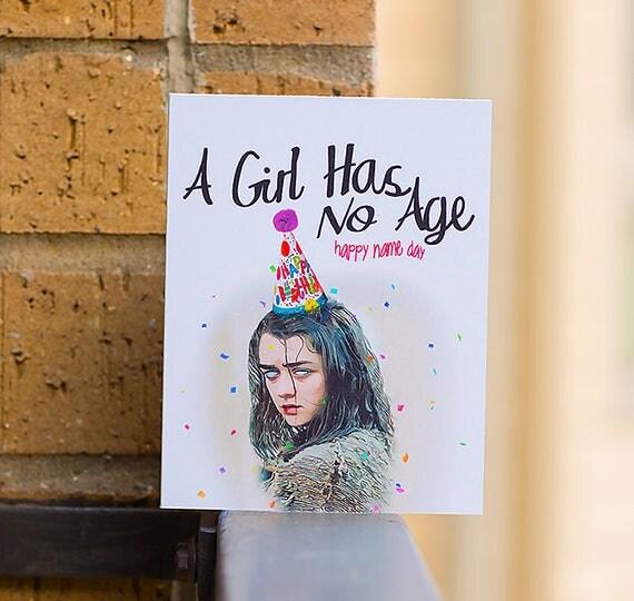 A Girl Has No Age A Girl Has No Name Arya Game of