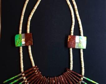 Native American Stick Necklace