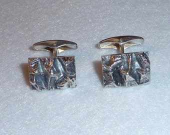 Cufflinks (Finland). Silver. Vintage.