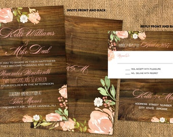 Wedding invites Etsy