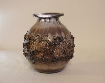 Glit Pottery, Iceland - Lava Ceramic Vase