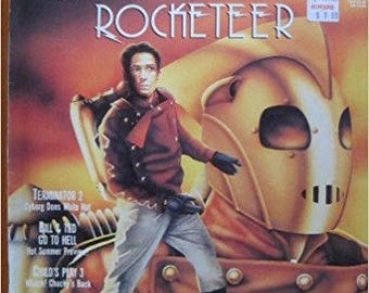 Rocketeer CinefantastiqueMagazine 1991 (Vol. 22, No. 1)