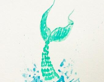 Mermaid makes a splash