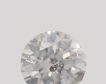 2.60 MM 0.064 Ct Natural Loose Diamond Round Shape fancy white Color I1 L8715