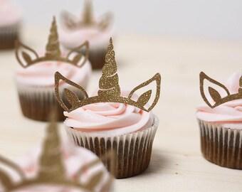 Unicorn Cupcake Toppers | Cupcake Toppers | Unicorn Theme Party | Unicorn Birthday | Unicorn Party Supplies | Party Supplies |