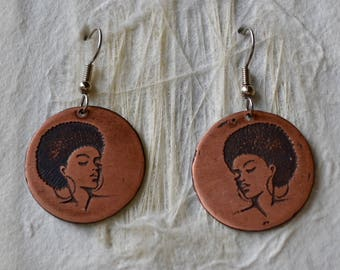 Black Woman Magic Earrings