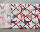Cats | Dogs | Fabric memo board | noticeboard | memory board | 40 x 50cm