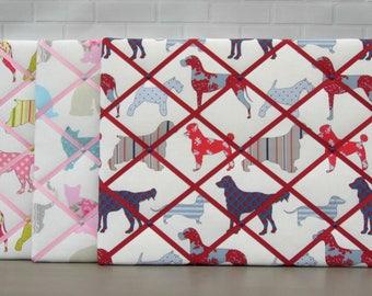 Cats | Dogs | Fabric | Memo board | noticeboard | memory board | 40 x 50cm
