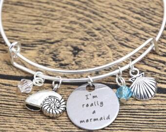 I'm Really A Mermaid Bracelet